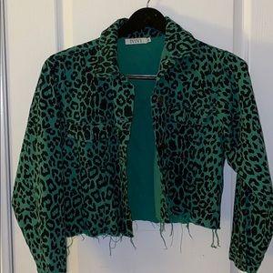 Nasty Gal leopard jacket